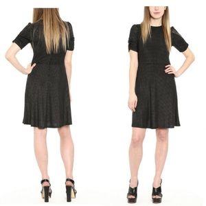 💖Michael Michael Kors Metallic Dot-Print Dress